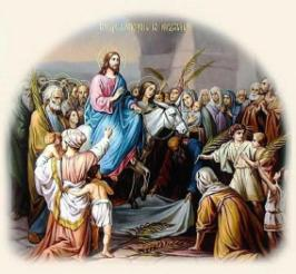Today Christians In Egypt Celebrate Palm Sunday The Day Of Triumphal Entry Lord Jesus Christ Into Jerusalem Copts Flock To Churches
