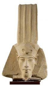 رأس الملك إخناتون