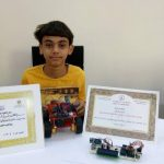 Young inventor from Egypt