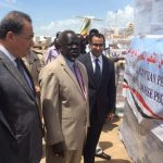 Humanitarian aid from Egypt to South Sudan