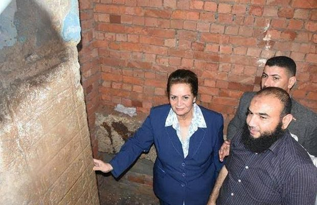 Ancient stele found underneath mosque minaret