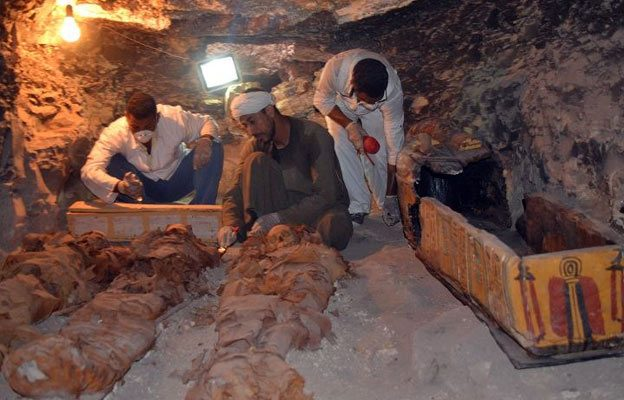 Ancient tomb unearthed in Luxor