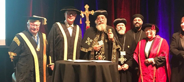 Sydney welcomes Pope Tawadros