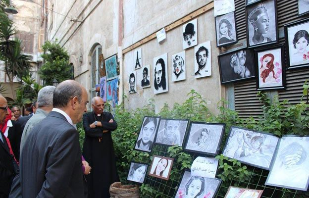 Art without walls in Alexandria