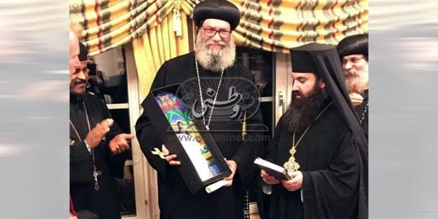 Anba Suriel of Melbourne receives Order of Sankt Ignatios