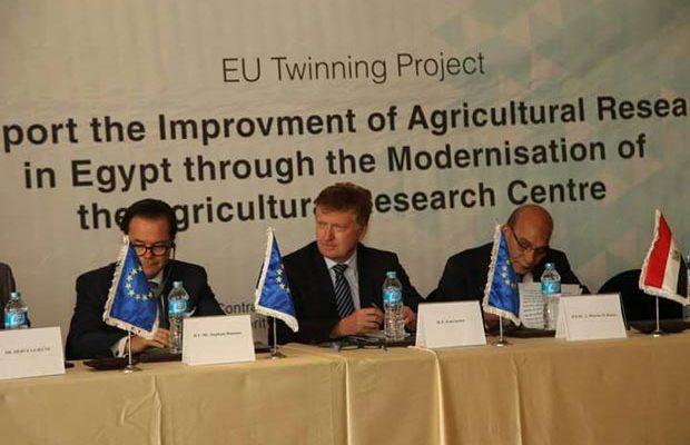 Egypt-EU twinning on agricultural research