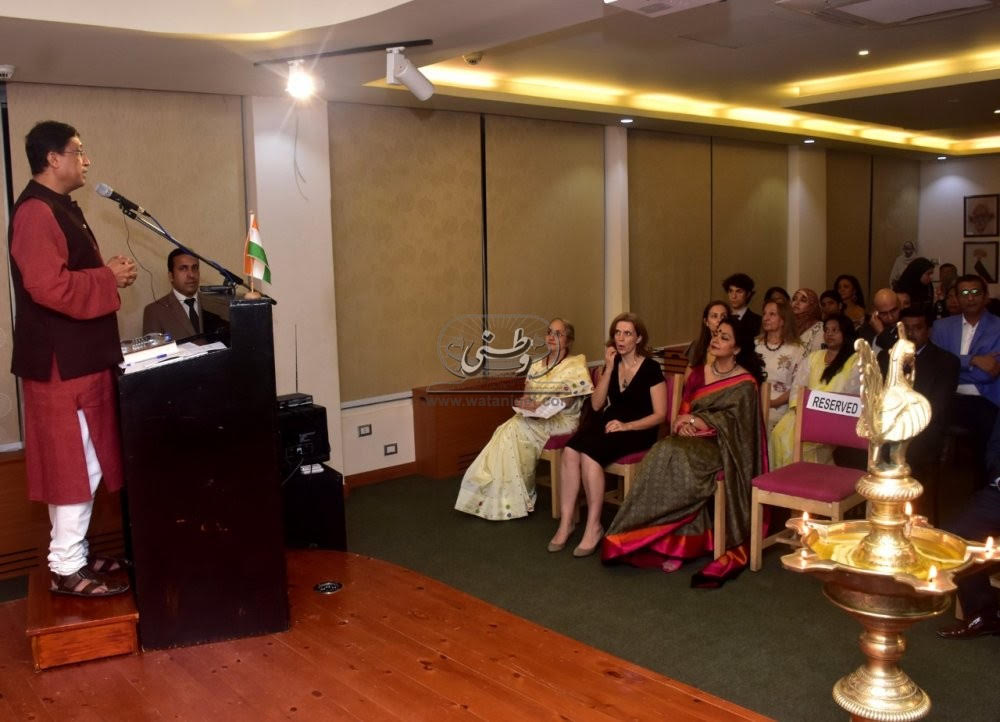 Gandhi Jayanti celebrated in Egypt