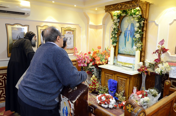 For 28 years in Port Said: Holy Virgin icon still drips miraculous oil