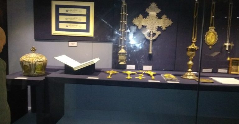 Museum for Pope Kyrillos VI at St Mark's