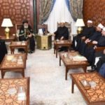 Pope visits al-Azhar Grand Imam to wish happy feast