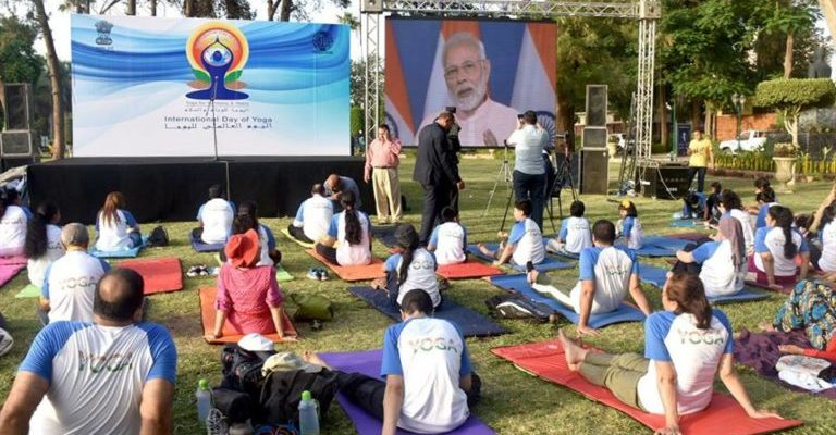 Yoga Day in Egypt