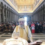 Pope Tawadros in Rome