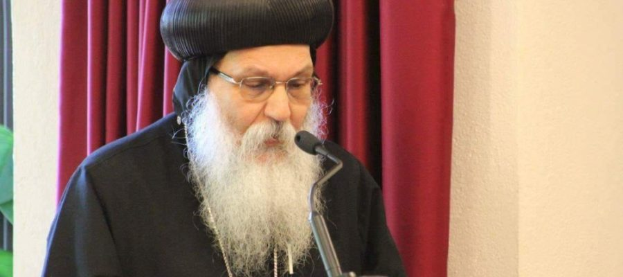 Funeral service for Anba Epiphanius