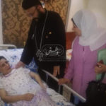 Coptic victim of Islamist terror handed wheel chair by governor