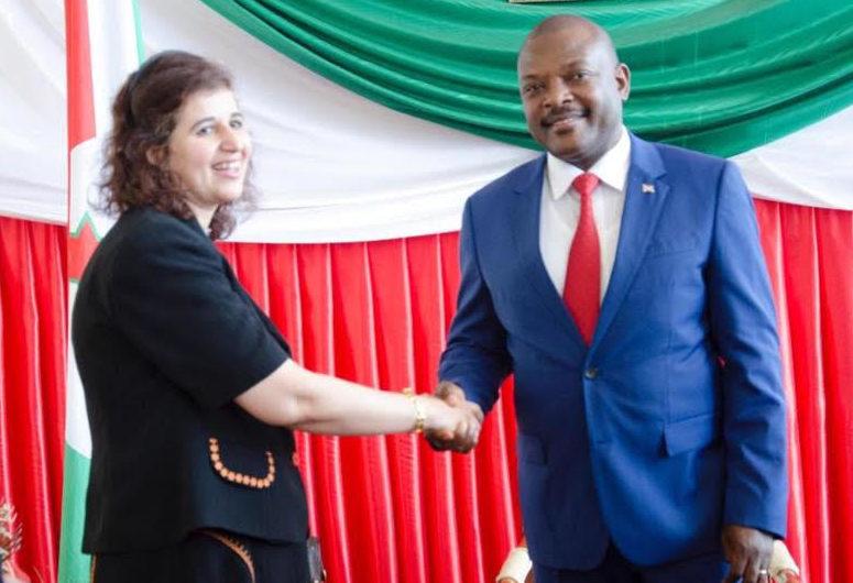 Burundi honours Egypt's ambassador