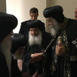 Pope Tawadros back home from US