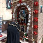 Pope Tawadros visits Anba Bishoy's shrine