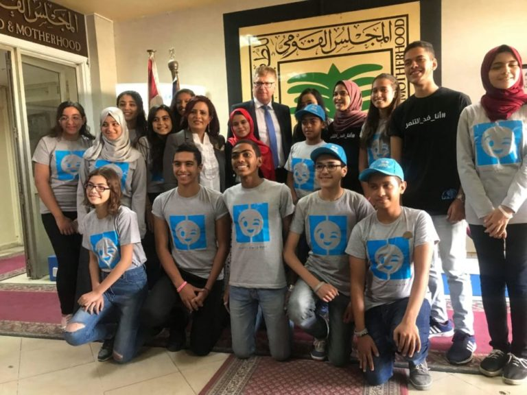On International Day of the Girl: Schoolgirl represents EU in Egypt