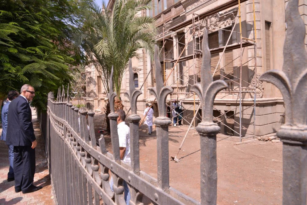 Assiut first Museum to be housed in palace