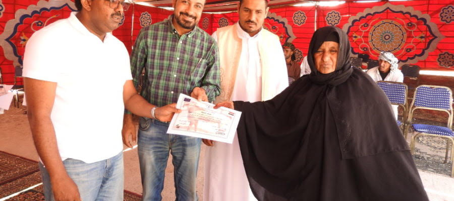 FAO distributes goats to 50 breadwinner women in Matrouh