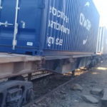 From Egypt's north to south, containers shipped by rail