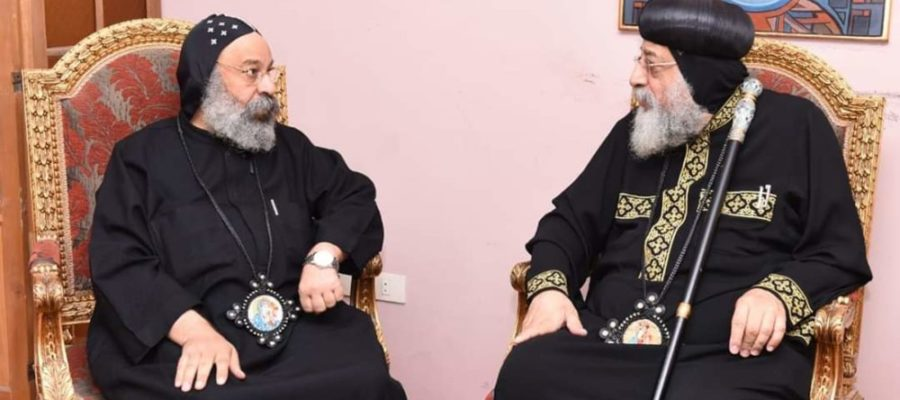 Anba Raphael in Melbourne to report on diocese following resignation of Bishop Suriel
