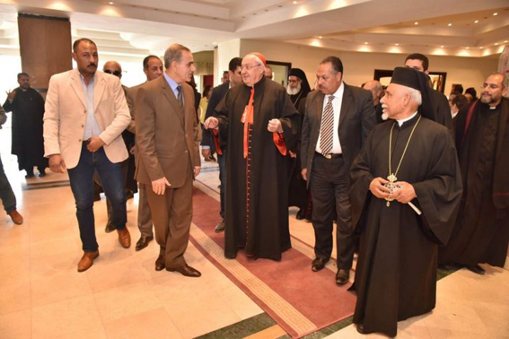In Tanta, Assiut and Luxor, governors lay foundation stones for churches