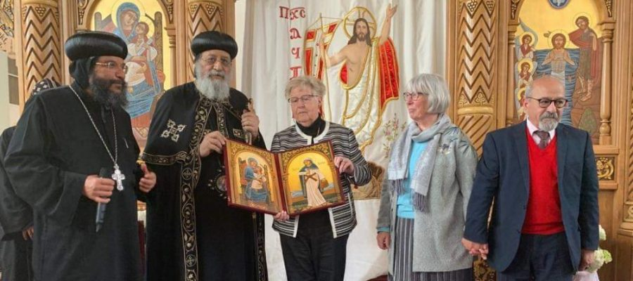 In pictures: Zurich's Coptic congregation welcomes Pope Tawadros