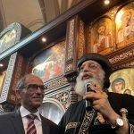 Pope Tawadros honours Egyptian-born German construction legend Hany Azer