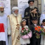 Pope Tawadros consecrates churches in Altena and Unna