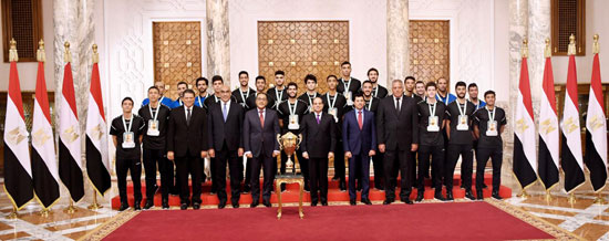 Egypt's handball under-19s historic win