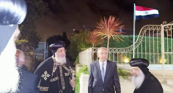 Pope Tawadros meets President Macron, concludes visit to France and Belgium
