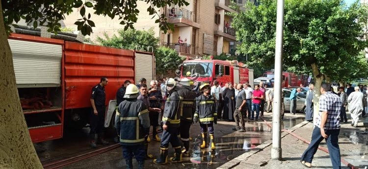 Fire in  Cairo church theatre causes no casualties or injuries