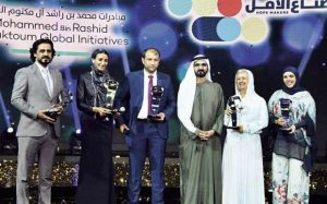Egypt's Mama Maggie wins Arab Hope Makers prize