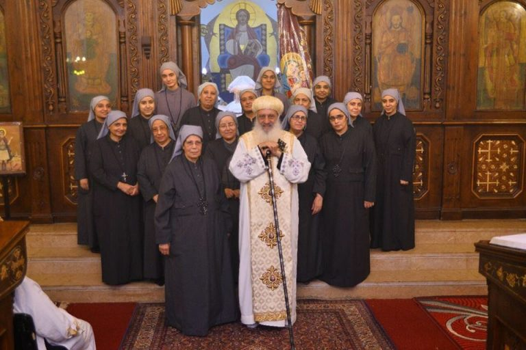 Deaconess and assistant deaconesses in Tanta