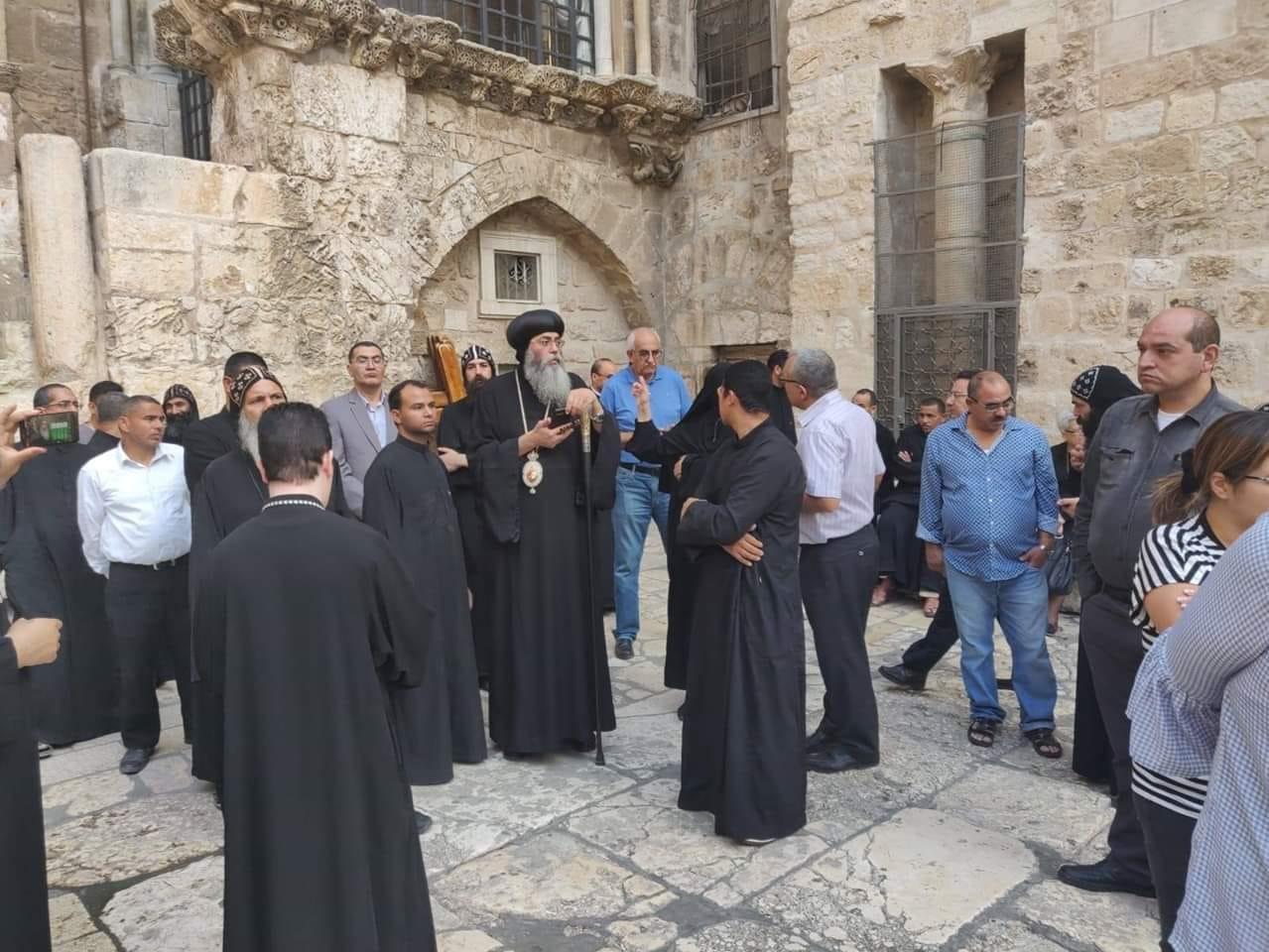 Jerusalem's Deir as-Sultan crisis: Pope Tawadros speaks up