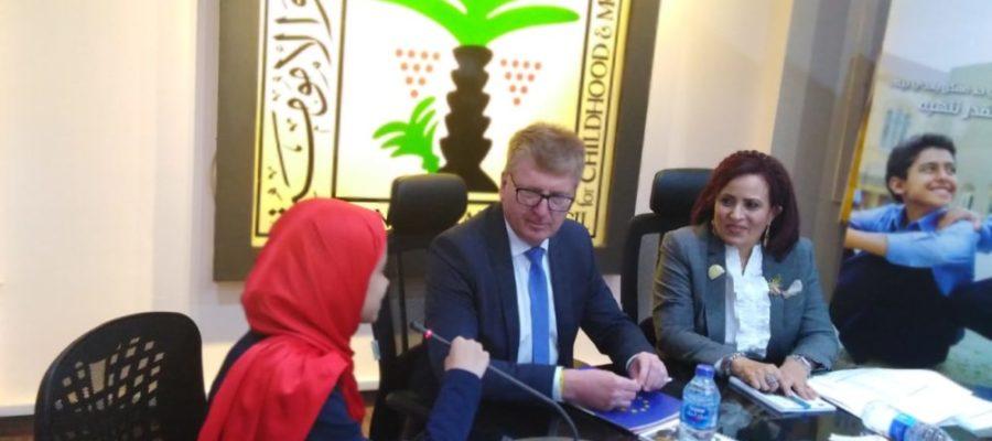 On International Day of the Girl: Schoolgirl represents EU in Egypt