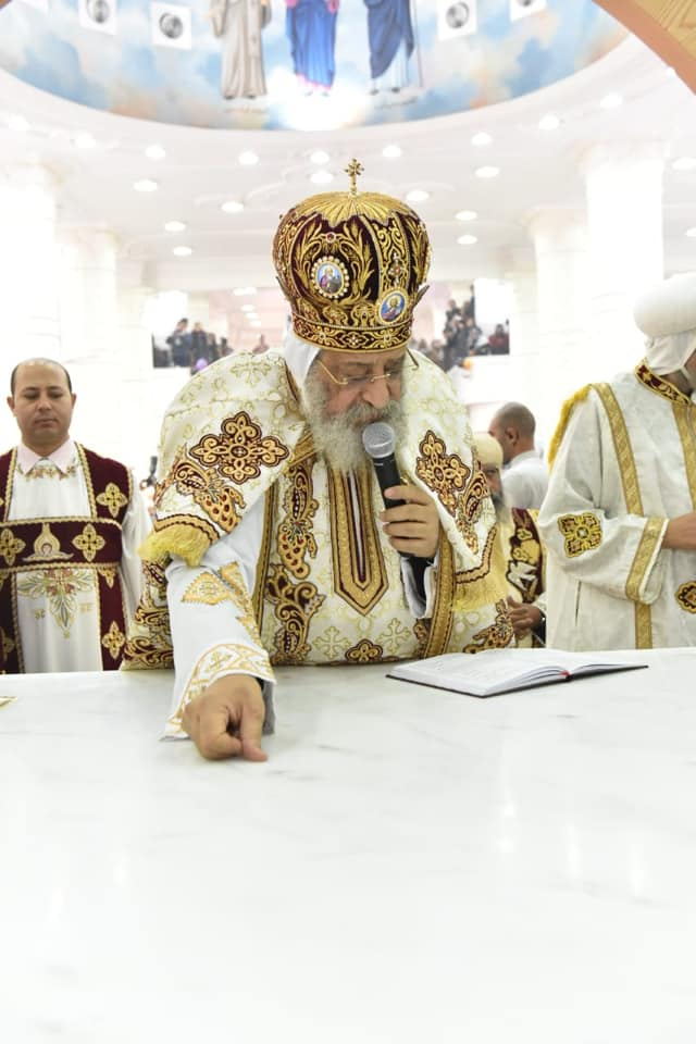 Pope Tawadros II on first pastoral visit to Sohag: The blessing and the joy