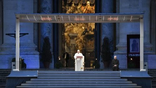 """Pope Francis: """"Why are you afraid?"""""""