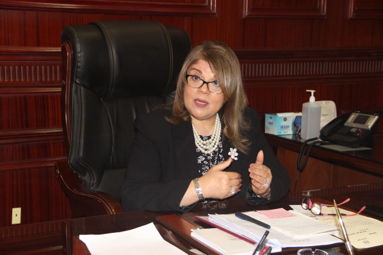 Watani talks to Phoebe Fawzy Girgis 1st Coptic female deputy to Egypt's Speaker of the Senate