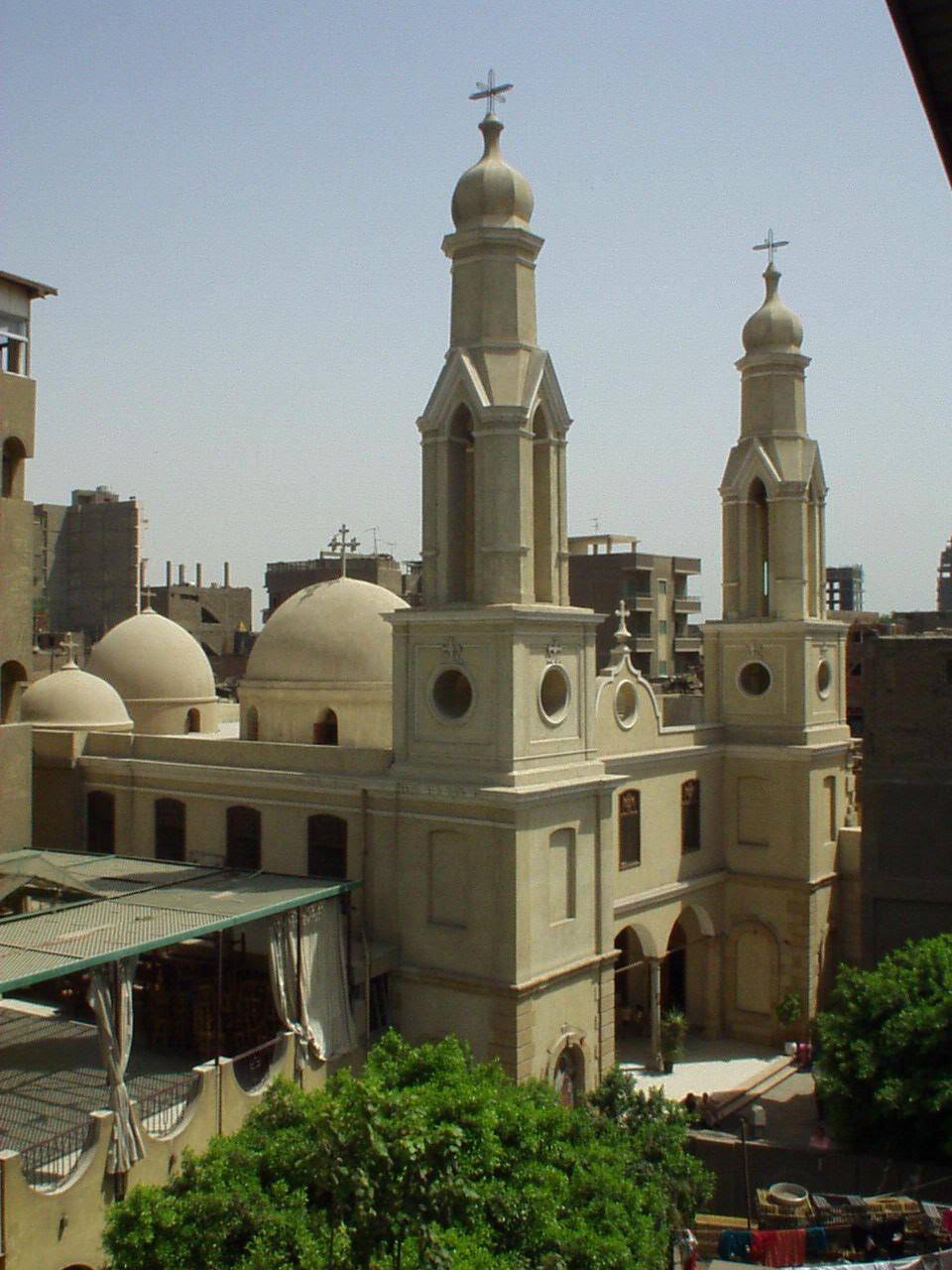 Story of first church in Giza