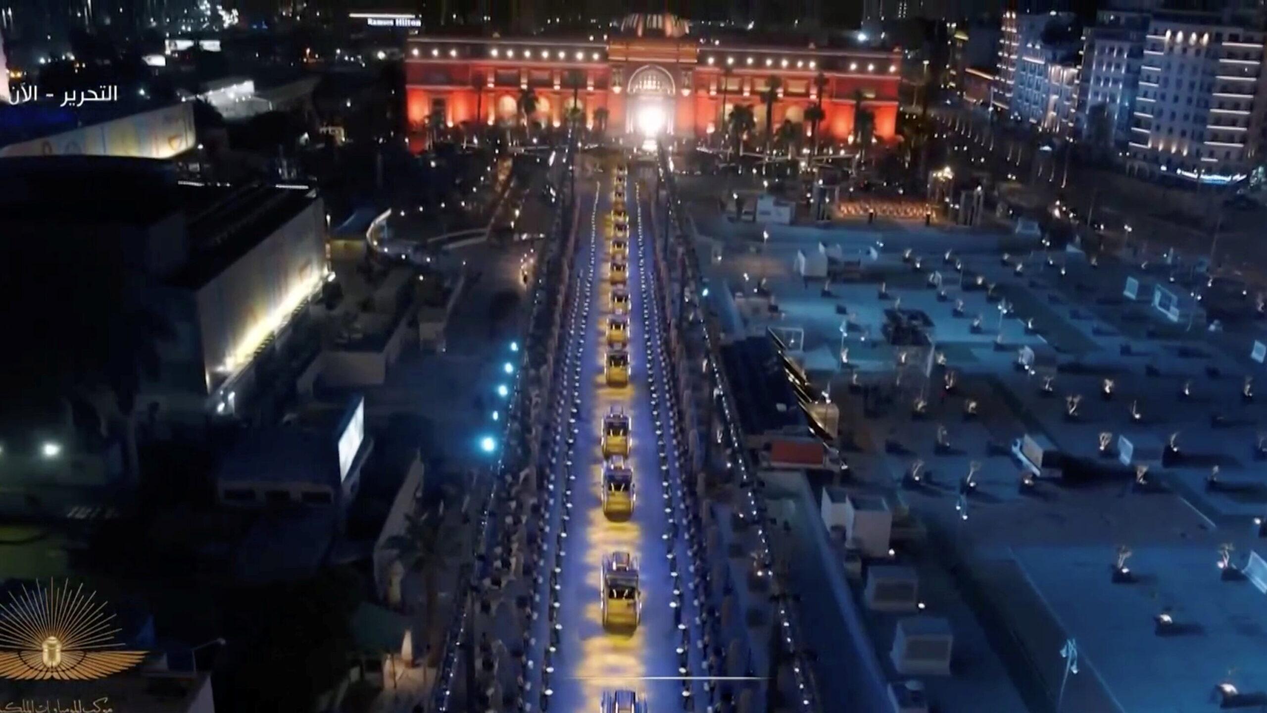 Egypt's Pharaohs Golden Parade: Proud to be Egyptian
