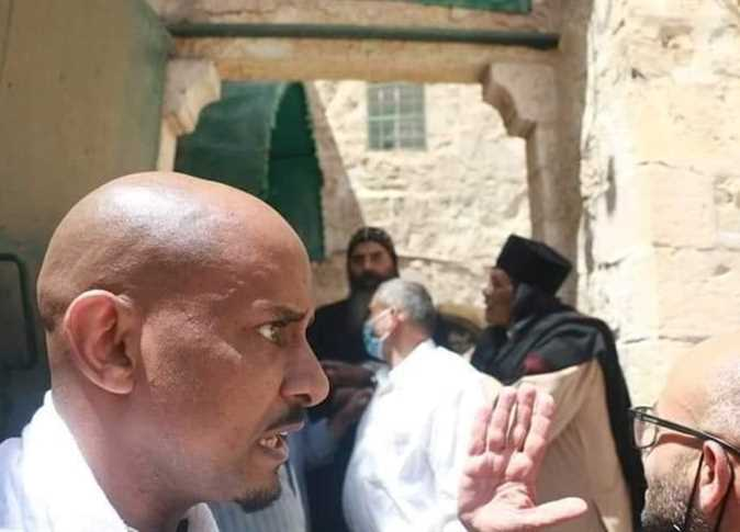 Ethiopian flag illegally flown at Coptic monastery