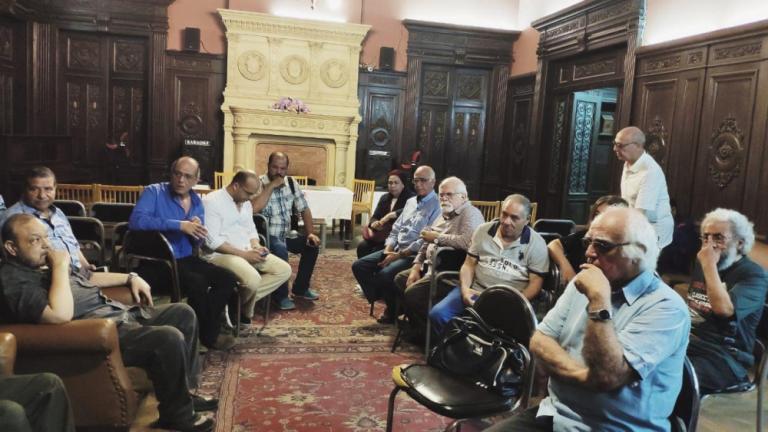 L'Atelier D'Alexandrie:Alexandria's culture pyramid under threat