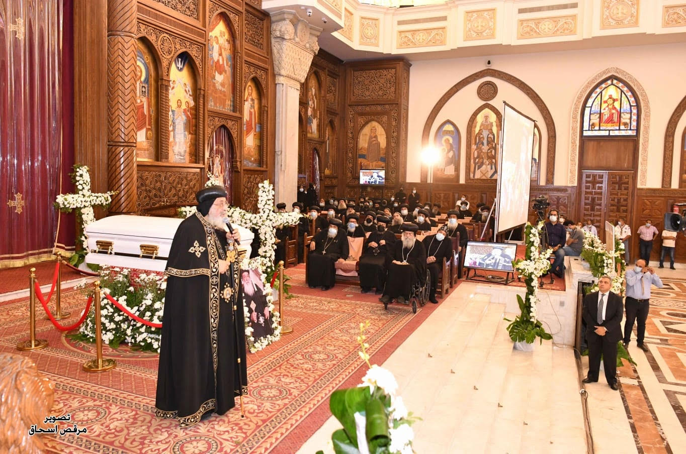 """Anba Hedra (1940 - 2021) Metropolitan of Aswan: """"To live is Christ, to die is gain"""""""