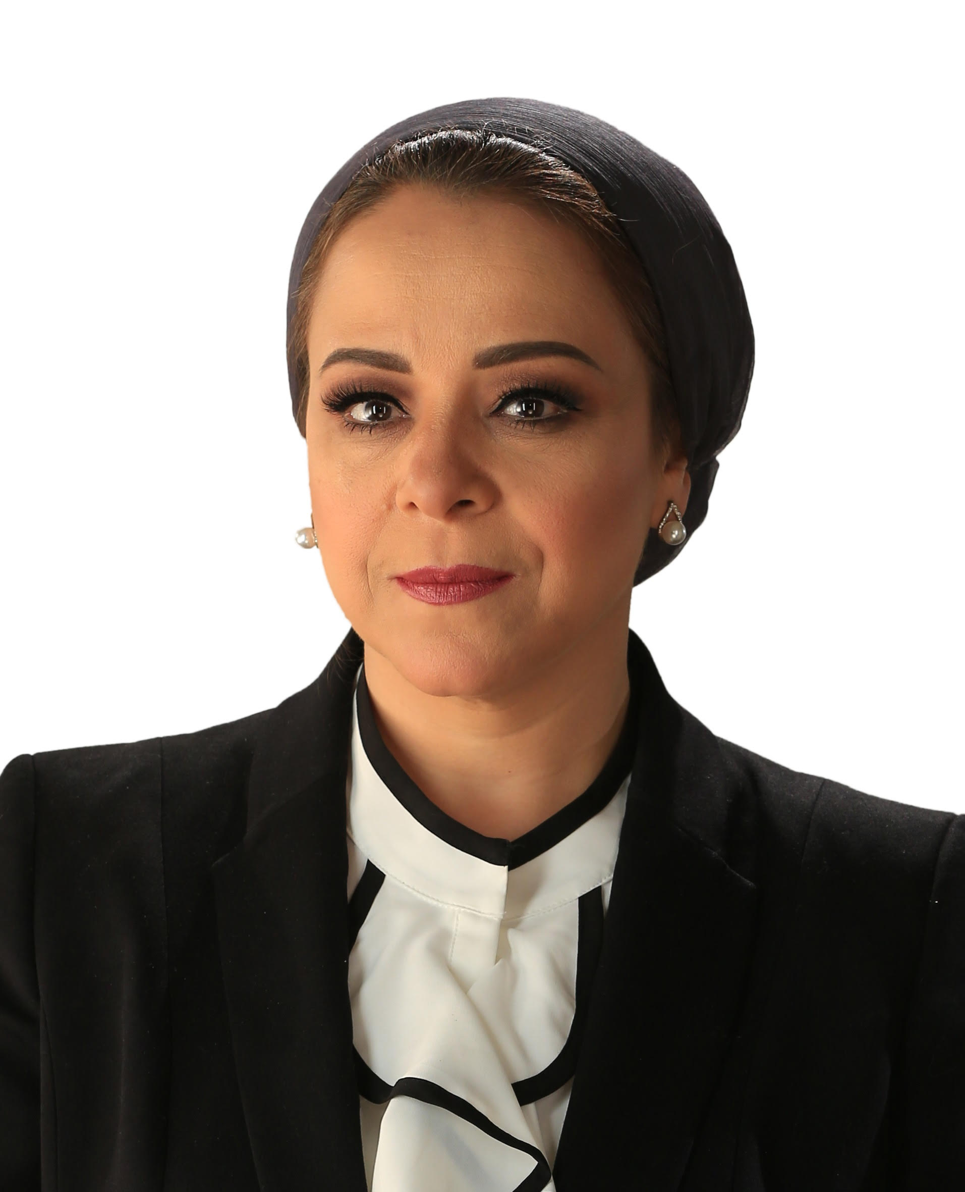 First woman to head Egypt's National Council of Human Rights, 11 female members out of total 27